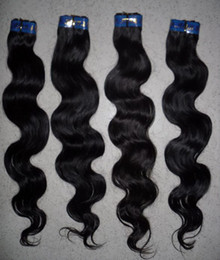 Wholesale 100 Brazilian Virgin Remy Hair Weave Human Extension Body Wave quot quot Fast Shipping HWT001 HWT001B