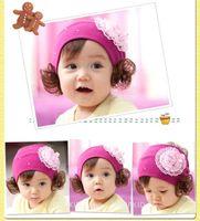 Red Headbands Blending Baby girls hair bow gerber flower headband clip Large Flower Clips for Headbands Hat