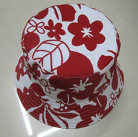 Wholesale New Adult Flower Design Cotton Bucket Hat Women s Sun Hat Caps designs