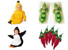 Wholesale Retail styles Baby sleeping bag pea banana pengiun chilli Kid sleeping bags Sleepsacks bag