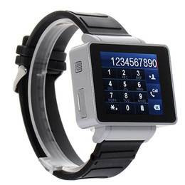 Wholesale Watch mobile phone i5 inch Java FM Touch Screen Watch Cell Phone with bluetooth Headset Sliver