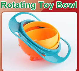 Wholesale Clearance Sale toys Baby bowl popular prevent things and come out gyro bowl