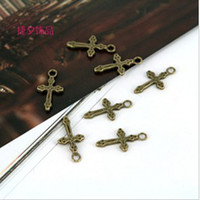 Traditional Charm ancient jewellery - Plating Ancient bronze Cross pendant jewelry accessories jewellery finding pendants