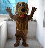 Wholesale New Style Wags The Dog Mascot Costumes Cartoon Fancy Dress Halloween Party Adult Size