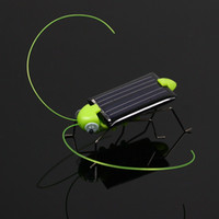 Wholesale Solar Power Robot Insect Bug Locust Grasshopper Toy kid