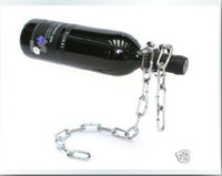 Wholesale Magic Wine frame Chain Wine Bottle Holder Gift