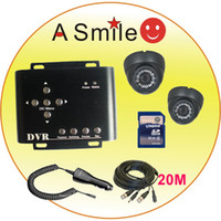 Wholesale 2Channel car dvr D1 resolution GB sd card supported bus dvr from asmile