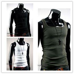 Wholesale Men Slimming Vest Shirt Corset Body Shaper Fatty6 colors Black White Grey Green Blue S M L XL