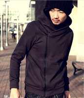 Wholesale hot sale New fashion Korean men s hoodie sweaters cardigan male short sweatshirt