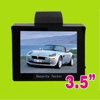 Wholesale 3 quot TFT LCD Monitor CCTV Security Camera Video Test Tester V OUTPUT