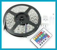 Free shipping RGB LED Strip waterproof LED Flexible band Lig...