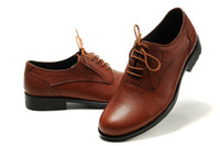 Wholesale Men dress shoes buisness style genuine leather smooth durable strong hard sole Quality