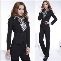 Black elastic dress professional skirts beauty new winter salon work clothes shop assistant business attire