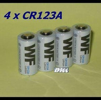 Wholesale SALE x V CR123A CR123 CR A V Lithium li on Torch Battery Digital Camera Battery Photo