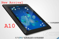 Wholesale 2012 New Arrival inch A10 allwinner Android point touch HDMI GHz Dual Camera tablet pc