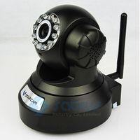 Wholesale 3pcs Wireless IP Camera CCTV Wifi PTZ H TF Memory SD card storage IR CUT Security Surveillance