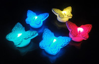 Butterfly Colourful Night Light Automatic Color Change Garde...
