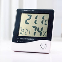 Wholesale Hot sale New LCD Digital Temperature amp Humidity Meter HTC H596