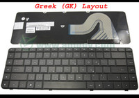 Wholesale New Notebook Laptop keyboard FOR HP Presario CQ62 G62 Black Greek GK Version MP J83GR