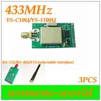 wireless transceiver module - YS C10U m RF modules data transceiver module U MHz AMR Wireless Smart Terminal