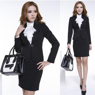 2012 new business attire suits OL installing interview with women's