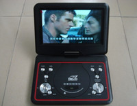 Wholesale super design best price quot rotatable portable DVD player TV Tuner USB SD MMC MS