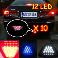 Wholesale 10 Brand New LED Rear Brake Lamp Brake Light Flashing Strobe For All Car Vehicles