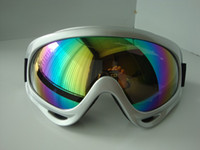 Wholesale NINKI ski sports goggles double anti fog mirror for Adults Riding climbing cross country free shippi