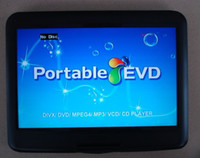 Wholesale super style quot DVD Player portable LCD swivel screen mulitmedia VCD DVD USB SD GAME FM TV