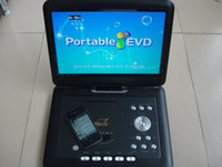 Wholesale best price high quality quot DVD Player portable LCD swivel screen VCD DVD USB SD GAME FM TV