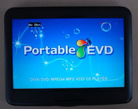 Wholesale good quality HD LCD quot DVD player portable swivel screen VCD DVD USB SD GAME FM TV
