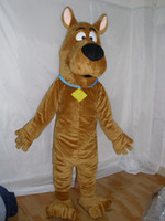 Wholesale Scooby Doo Cartoon Dog plush Mascot costume marine animal Mascot Costumes Adult size Free S H
