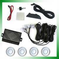 Wholesale Car Parking LED Display Silver Sensor Reverse Alarm Rear Radar CP201