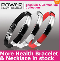 Wholesale New Power Titanium Ionic Magnetic Bracelet Band Sports Ion Balance New Godd Qualiy Low Price