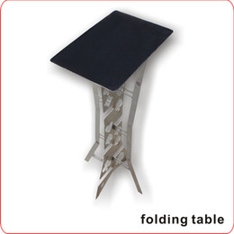 Metal Folding Table (Appearing Table) -- magic tricks