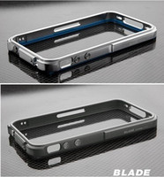 Wholesale Blade Bumper Case Aluminum bumper Frame Blade Case cover For iPhone S G S