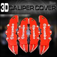 Cheap Red 3d brake Best 9.5 inch x 3 inch   7.5 inch x 3 inch Calipers & Parts brake caliper