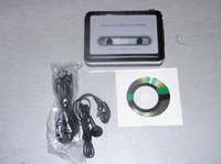 Wholesale RZ186 New Tape To USB PC Cassette to MP3 Converter Super USB Cassette Capture