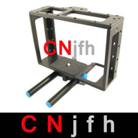 Wholesale DSLR Camera Cage Rig with mm Rod Block Plate for Cann Eos D MARK II D D Nikon D7000 D90