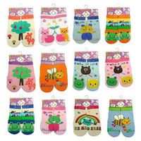 Boy autumn puzzles - Baby Low Cut Children Animal non slip Socks Kids Sock cartoon Left Right AB socks baby Puzzle Socks
