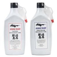 Wholesale 2 x Gray Shading and Black Outlining Tattoo Ink oz ml Bottle Tattoo Pigment TI105
