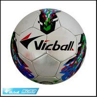 Wholesale Vicball football Soccer indoor outdoor use Standard soccer ball Gift pump gas pin net bag freeshi