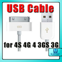 Wholesale 20x USB Cable Data Sync Charger Cord Connector For iPhone G GS G S Gen iPod Touch Nano