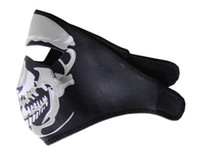 Wholesale Cheap Price Hallowmas Harley Skull Biker Motorcycle Mask Paintball Ski Mask