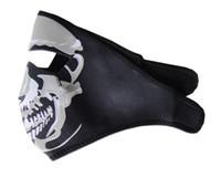 Wholesale Hallowmas Harley Skull Biker Motorcycle Mask Paintball Ski Mask