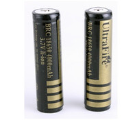 Wholesale 10pcs mah Brand New Ultrafire Rechargeable battery v Excellent Quality