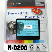 Wholesale Emora Premium LCD Screen Panel Protector for Nikon D200 from kakacola shop