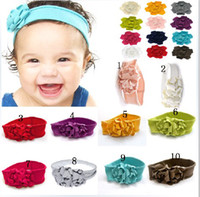 Girl hat band - NEW Top Baby Girl s Flowers headband caps girls hat Flower hair band headgear style