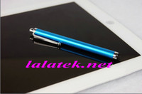 Wholesale Capacitive Screen Stylus Pen with Clip For iphone G Tablet PC Epad Apad Flytouch