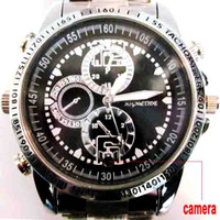 Wholesale 4GB GB Spy Watch Camera WaterProof Hidden Video Recorder Mini DV DVR Camcorde VGA fps WD2